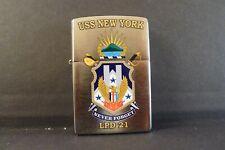 Zippo Lighter USS New York Never Forget LPD 21