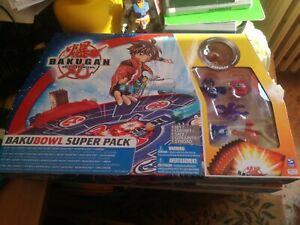 Bakugan Battle Browlers bakubowl Super Pack Raro