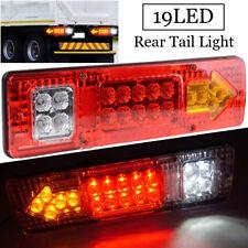 1Pcs LED Rear Tail Lights Brake Reverse Turn Signal Lamps For Car Trailer Truck