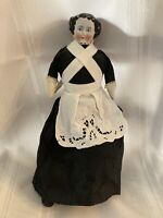 Antique CHINA HEAD DOLL Flat Top Hairstyle, pretty face, Possibly a Kister?