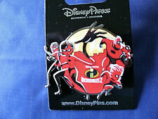 Disney * INCREDIBLES FAMILY * New on Card Trading Pin