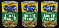 Margaret Holmes Peanut Patch Original Boiled Peanuts 3 Cans 13.5 oz each