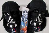 NWT Star Wars Darth Lil Vader Black Toddler Boys Slippers