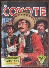 Romanheft El Coyote nº 26 secret de la Maise-Syer Österr. Sortie