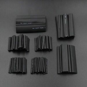 127Pcs Car Electrical Cable Heat Shrink Tube Tubing Wrap Sleeve Assorted 7 Sizes