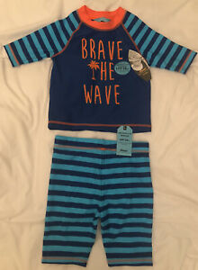 Primark Sun Protection UPF50 Two Piece Swim Suit  BNWT Age 3-4 Years