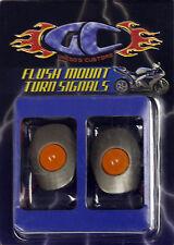 Gregg's Customs LED flush mount turn signals Kawasaki 05-06 ZX6R/RR -gray