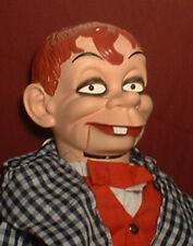 "HAUNTED Ventriloquist doll ""EYES FOLLOW YOU"" puppet creepy clown mask dummy"