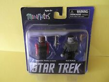 "Star Trek Minimates  Sisko w/Vest & Gul Dukat 2.25""in Figures 2013"
