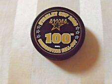 Dallas Stars 100 Consecutive Sell Outs Puck