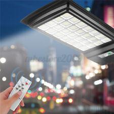 924LED Solar Street Light Motion Sensor Outdoor Road Wall Lamp Flood