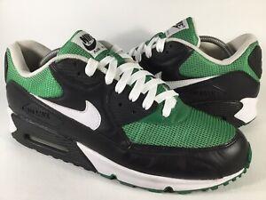 Nike Air Max 90 OG Pine Green Black White Mens Size 11.5 Rare 325018-017