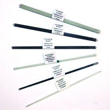 FIBREGLASS POLE FLOAT STEMS CLEAR / BLACK/ SMOOTH WHITE