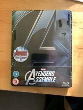 AVENGERS ASSEMBLE The Marvel Steelbook HMV New & Sealed UK Exclusive
