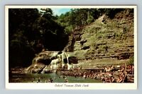 c1930s Pavilion at Stewart Park Ithaca New York NY postcard view
