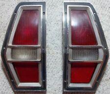 1972  thru 1980 Ford Pinto Station Wagon Tail Light Assemblies L-H R-H Lot of 2