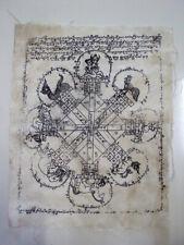 Pha Yant Cloth Talisman Charm Lucky Mantra Manuscript Magic Thai Buddhist Amulet