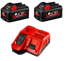 Milwaukee Battery 6.0ah 18v Red Lithium-ion High Output M18HB6