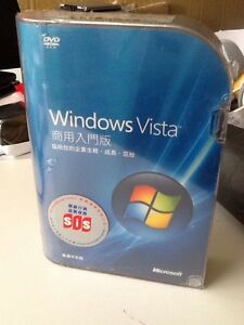 Microsoft Windows Vista Business Full Retail Box Edition Chinese