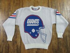 Vintage NFL Pro Line Cliff Engle NEW YORK GIANTS LS Pullover Sweater Size L
