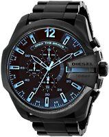 Diesel Men's DZ4318 'Mega Chief' Chronograph Black Stainless Steel Watch