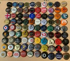 90 - Crown Bottle Tops - all different / crafts / collectables (Lot 6)