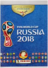 Panini WM 2018 Russia M9 McDonalds Album vuoto con set di 9 adesivi M1