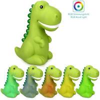Veilleuse LED Enfant Dinosaure - Lampe de Nuit avec Changement Couleur Minuteur