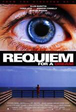 Requiem for a Dream Movie Poster 27 x 40, Jared Leto, A, Licensed, U.S.A. New