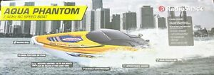 Radioshack Aqua Phantom 2.4GHz RC Speed Boat Classic Cruiser OLD STOCK