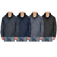 Mens Fleece Lined Waterproof Windproof Drexel Hooded Jacket