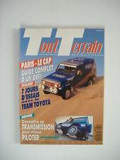 TOUT TERRAIN MAGAZINE 33 guide PARIS LE CAP-TOYOTA HZJ 73 T2-MAHINDRA CJ 540