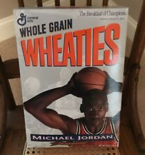 Michael Jordan UnOpened WHEATIES Silver Cereal Box. Collectors Edition 1993