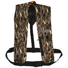 Camo Polyester Automatic or Manual Inflatable Type V PFD Boat Safety Life Vest