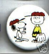 SNOOPY + CHARLIE BROWN pin BASEBALL Peanuts gang