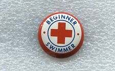 RED CROSS BEGINNER SWIMMER PIN