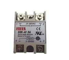 1Pcs FOTEK Solid State Relay SSR-40DA 40A 3-32VDC DC-AC Hot Sale