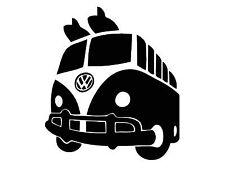 Volkswagen VW Camper Splitscreen Vinyl Sticker Decal Bus Dub  Caravelle Devon