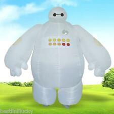 Big Hero 6 Adults Inflatable Baymax Costume Dress Mascot Cosplay Toy Outfit C319