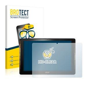 2x Film Protection pour Acer Iconia Tab 10 A3-A40 Transparent Protecteur Écran