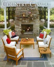 2013 Contry Casual Catalog Teak Outdoor Furniture