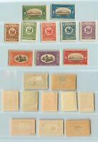 F7655 Stamps Beautiful Armenia 1922 Sc 360 Mint Black Signed