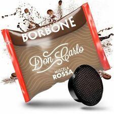300 CAPSULE COMPATIBILI A MODO MIO CAFFE' BORBONE DON CARLO ROSSA box da 50