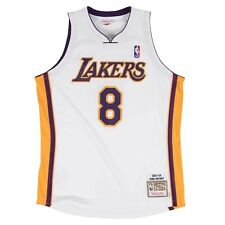 Los Angeles Lakers Kobe Bryant Mitchell Ness White 2003-04 HWC Pro Jersey Large