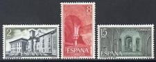 SPAGNA Gomma integra, non linguellato 1974 sg2283/85 Monastero di Leyre