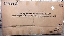 "Samsung 43"" HG43NE477SFXZA LED-LCD Hospitality TV - For Parts Not Working"