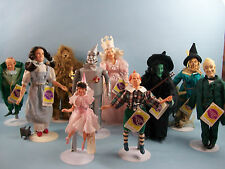 Wizard of Oz Dolls By Presents A Division Of Hamilton Gifts 1988 Set of 10
