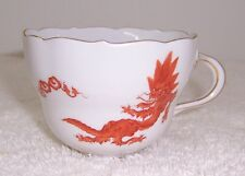 Meissen Ming Dragon Red Cup