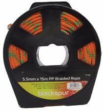 Blackspur 5.5 mm x 15 m forte PP Tressé Corde Sur Bobine Tondeuse Générateur de cordon