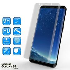 100% Genuine Tempered Glass LCD Screen Protector Film For Samsung Galaxy S8 Plus